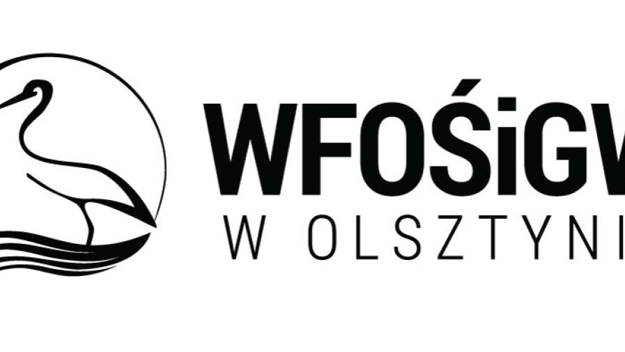 Korzystamy z dofinansowania  Wojewódzkiego Funduszu i Ochrony Środowiska  i Gospodarki Wodnej w Olsztynie